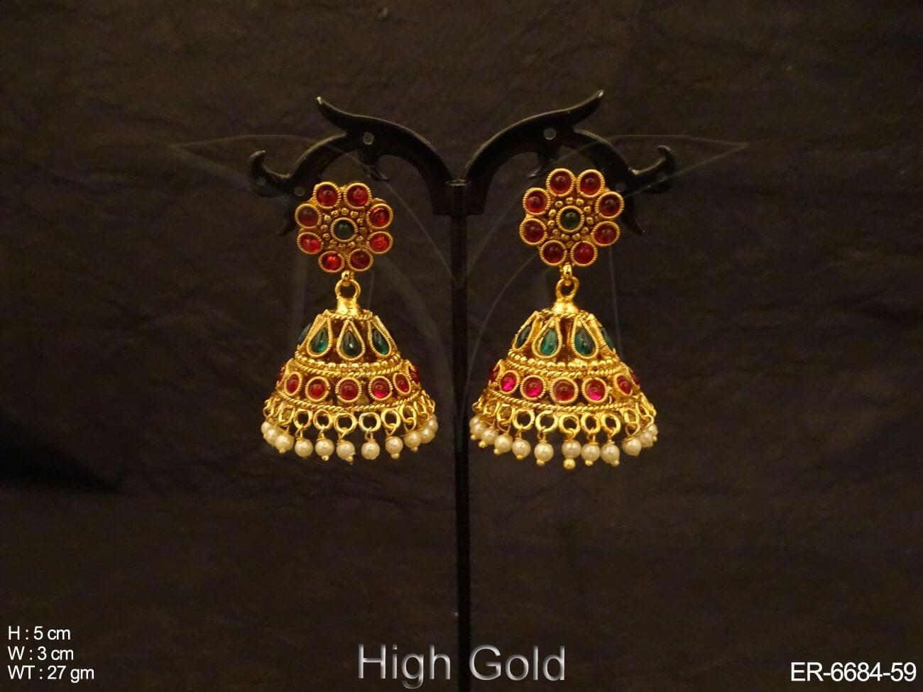Kemp Jhumki Earrings Jewellery